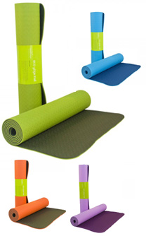 Eco-friendly TPE yoga mat 6mm